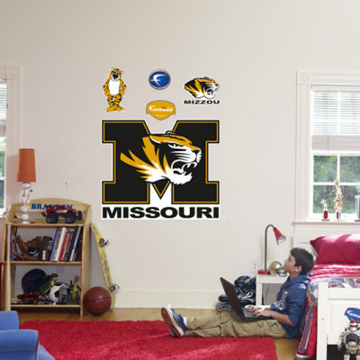 Missouri Tigers Logo Wall Decal