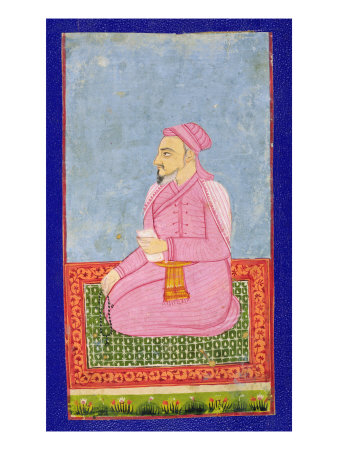 Shams Al-Umara, Illustration from a Book on Indian Mystics Giclee ...