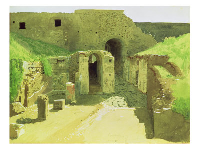 Italian Ruins, 1876 Giclee Print