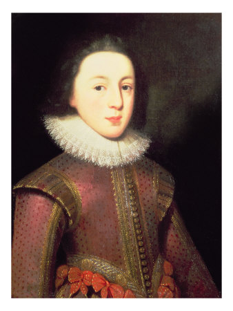 Portrait of Henry, Prince of Wales Giclee Print by Paul van Somer