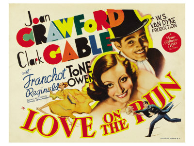 Love on the Run, 1936 Poster