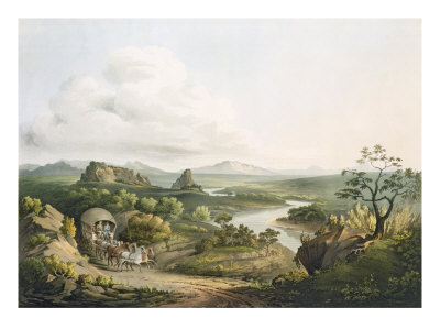 A View near the Roode Sand Pass at the Cape of Good Hope, engraved by J. Bluck Giclee Print by Henry Salt