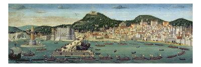 The Tavola Strozzi, 1472-3 Giclee Print by Francesco Rosselli