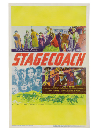 Stagecoach, 1939 Posters