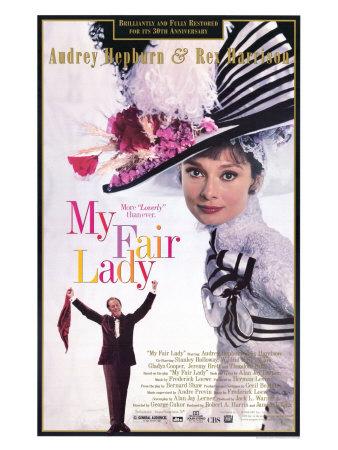 My Fair Lady, 1964 Umělecká reprodukce