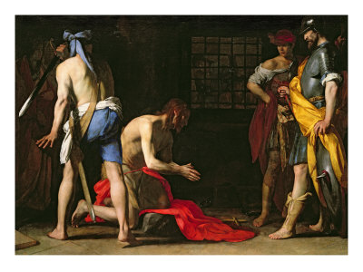 The Beheading of John the Baptist, 1634 Giclee Print by Massimo Stanzione