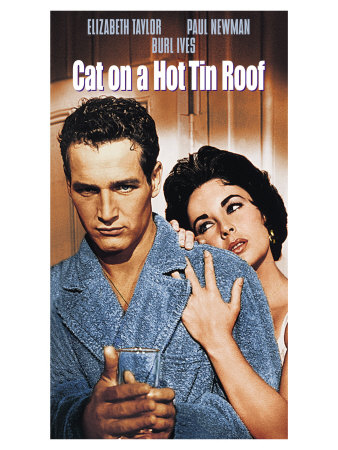 Cat On a Hot Tin Roof, 1958 Poster