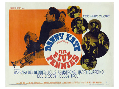 The Five Pennies, 1959 Poster