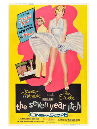 The Seven Year Itch, 1955 Posters
