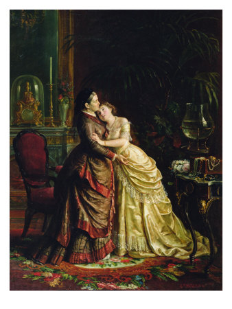 Before the Marriage Giclee Print by Sergei Ivanovich Gribkov