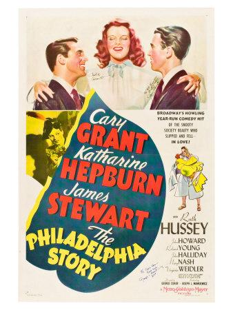 The Philadelphia Story, 1940 Art