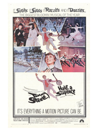 Half a Sixpence, 1968 Posters