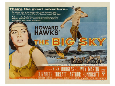 The Big Sky, 1952 Posters