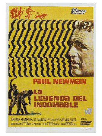 Cool Hand Luke, Spanish Movie Poster, 1967 Prints