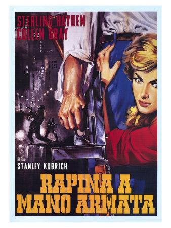 The Killing, Italian Movie Poster, 1956 Prints