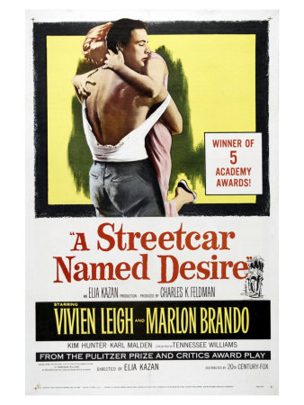 A Streetcar Named Desire, 1951 Art