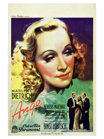 Angel, French Movie Poster, 1937 Posters