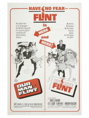 Our Man Flint, 1966 Prints