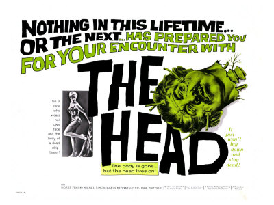 The Head, 1962 Posters