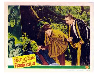Bud Abbott Lou Costello Meet Frankenstein, 1948 Poster