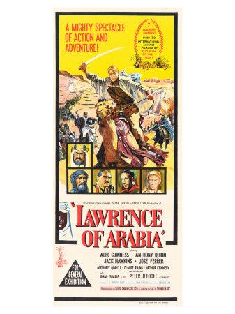 Lawrence of Arabia, 1963 Prints