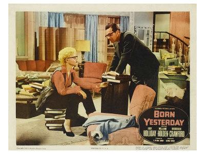 Born Yesterday, 1951 Plakat