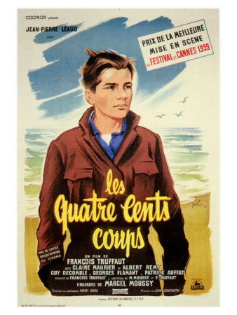 400 Blows, French Movie Poster, 1959 Prints