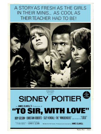 To Sir With Love, Australian Movie Poster, 1967 Prints