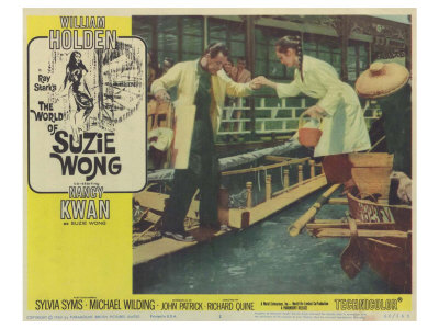 The World of Suzie Wong, 1960 Posters