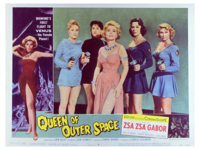 Queen of Outer Space, 1958 Prints