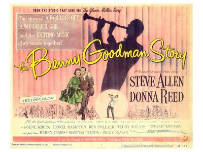The Benny Goodman Story, 1956 Art