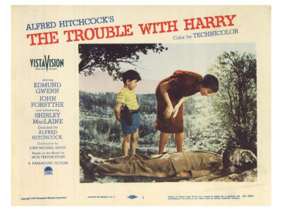 The Trouble With Harry, 1955 Poster