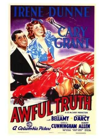 The Awful Truth, 1937 Poster