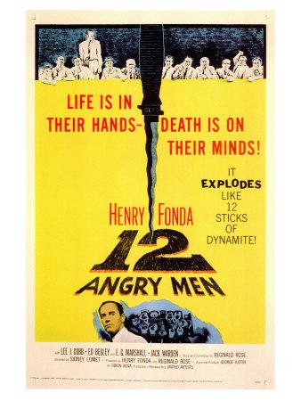 Twelve Angry Men, 1957 Posters