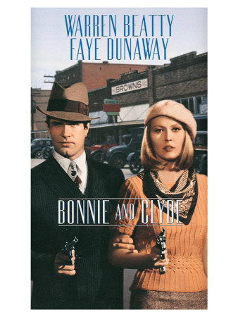 Bonnie and Clyde, 1967 Art
