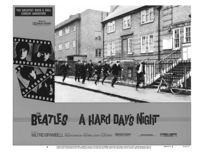 A Hard Day's Night, 1964 Giclée-tryk