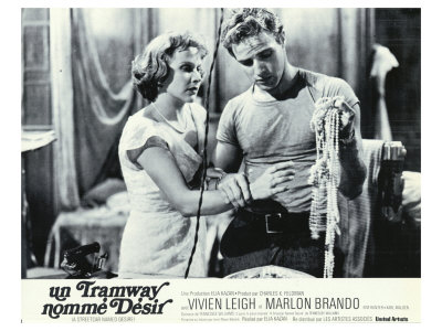A Streetcar Named Desire, French Movie Poster, 1951 Posters