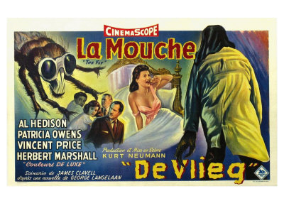 The Fly, Belgian Movie Poster, 1958 Poster