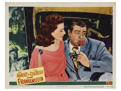 Bud Abbott Lou Costello Meet Frankenstein, 1948 Prints
