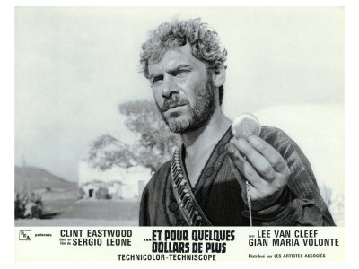 For a Few Dollars More, French Movie Poster, 1966 Prints