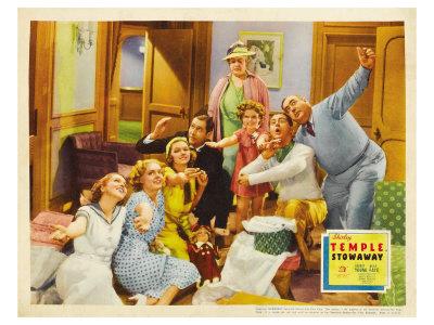 Stowaway, 1936 Posters