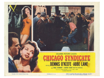 Chicago Syndicate, 1955 Posters