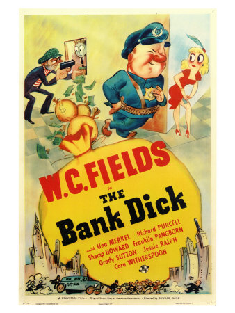 The Bank Dick Art