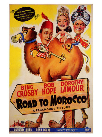Road to Morocco, 1942 Print