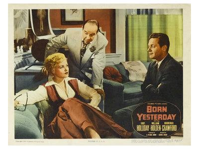 Born Yesterday, 1951 Poster