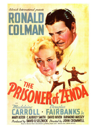 The Prisoner of Zenda, 1937 Art