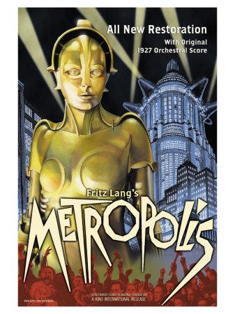 Metropolis, 1926 Posters