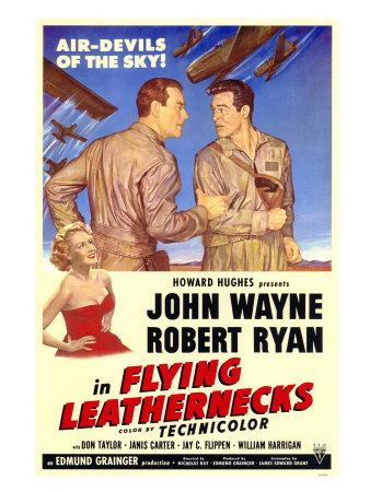 Flying Leathernecks, 1951 Posters