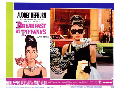 Breakfast At Tiffany's, 1961 Giclee Print
