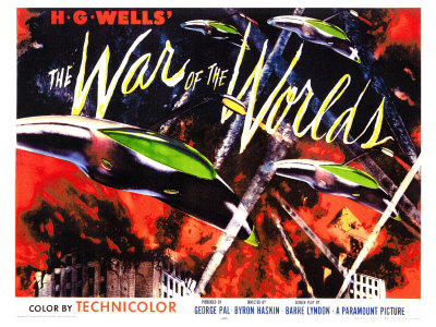 war of the worlds 1953. The War of the Worlds, 1953